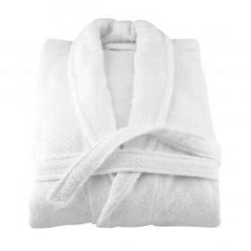 Махровый халат укороченный